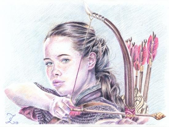 Anna Popplewell by Olivier_Lerousseau